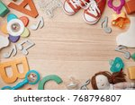 beautiful composition with...   Shutterstock . vector #768796807