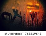 i love it written on the wet... | Shutterstock . vector #768819643