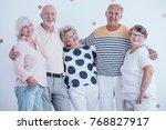 positive relationship between... | Shutterstock . vector #768827917