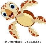 vector illustration of cute... | Shutterstock .eps vector #768836653