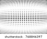 abstract halftone wave dotted... | Shutterstock .eps vector #768846397