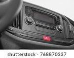 modern car radio | Shutterstock . vector #768870337