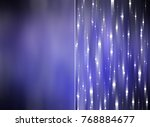 set 2 of lilac abstract... | Shutterstock . vector #768884677