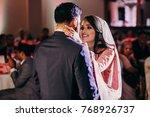 indian groom in classy western... | Shutterstock . vector #768926737