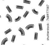 seamless pattern background   Shutterstock . vector #768977587
