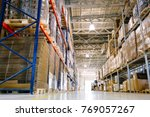 warehouse logistics is important | Shutterstock . vector #769057267