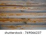aged pine wood grain texture... | Shutterstock . vector #769066237