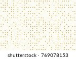 beautiful geometric pattern... | Shutterstock .eps vector #769078153