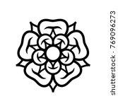 rose  queen of flowers . flower ... | Shutterstock .eps vector #769096273