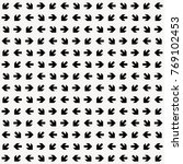 Black Arrows Pattern