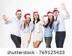 new year or christmas party.... | Shutterstock . vector #769125433