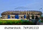bt murrayfield rugby stadium ...   Shutterstock . vector #769181113