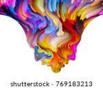 colors of us series. interplay... | Shutterstock . vector #769183213