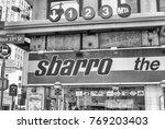 new york city   june 14  2013 ...   Shutterstock . vector #769203403