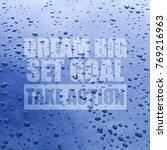 "inspirational motivation quote ""...   Shutterstock . vector #769216963"