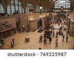 paris  france   july 11  2017.... | Shutterstock . vector #769225987