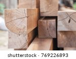 wood timber construction... | Shutterstock . vector #769226893