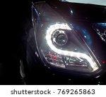 headlights new car | Shutterstock . vector #769265863