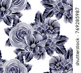 abstract elegance seamless... | Shutterstock .eps vector #769285987
