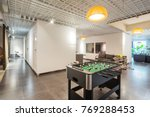 table football in modern living ... | Shutterstock . vector #769288453
