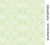seamless geometric pattern in... | Shutterstock .eps vector #769309483