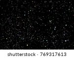 colourful explosion of confetti.... | Shutterstock .eps vector #769317613