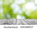spring background table   Shutterstock . vector #769348957