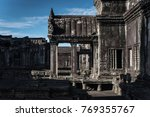 entrance of the greatest empire ... | Shutterstock . vector #769355767