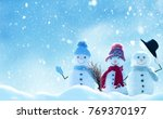 merry christmas and happy new... | Shutterstock . vector #769370197