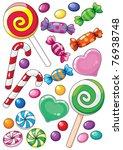 raster illustration of a... | Shutterstock . vector #76938748