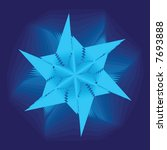asymmetrical geometrical... | Shutterstock .eps vector #7693888