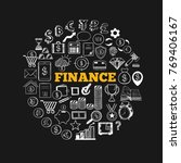 business and finance vector... | Shutterstock .eps vector #769406167