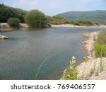 Small photo of Achelous river in Acarnania and Aetolia Greece