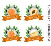 abstract vector icon... | Shutterstock .eps vector #769406743