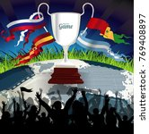 championship league celebration | Shutterstock .eps vector #769408897