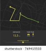 dashboard theme creative...   Shutterstock .eps vector #769415533