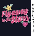 typography slogan with cute... | Shutterstock .eps vector #769431127