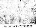 grunge black and white pattern. ... | Shutterstock . vector #769431727