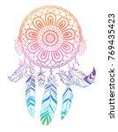 dream catcher  vector... | Shutterstock .eps vector #769435423