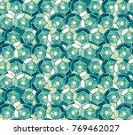 sequins seamless pattern.... | Shutterstock . vector #769462027