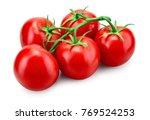 tomato. tomato branch. tomatoes ...   Shutterstock . vector #769524253
