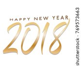 happy new year | Shutterstock .eps vector #769573663