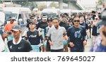 nonthaburi   dec 6 2017   on... | Shutterstock . vector #769645027