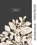 modern template tropic design... | Shutterstock .eps vector #769670233