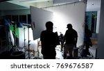 vdo camera shooting for... | Shutterstock . vector #769676587