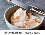 fish egg paste tarama made with ... | Shutterstock . vector #769684693