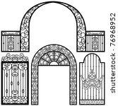 Entrance Gate Door Fence...