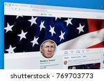 sankt petersburg russia... | Shutterstock . vector #769703773