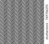 seamless pattern with striped...   Shutterstock .eps vector #769706293