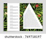 abstract vector layout... | Shutterstock .eps vector #769718197